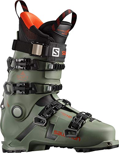 Salomon Alpinas Shift Pro 130 At, Herren Skischuhe, Grün - grün (Oil Green) - Größe: 45.5/46.5 EU