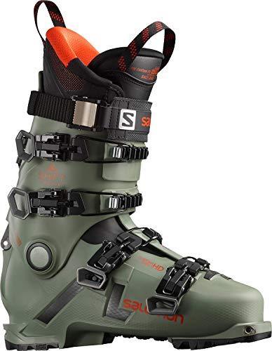 Salomon Alpinas Shift Pro 130 At, Herren Skischuhe, Grün - grün (Oil Green) - Größe: 45.5/46.5 EU