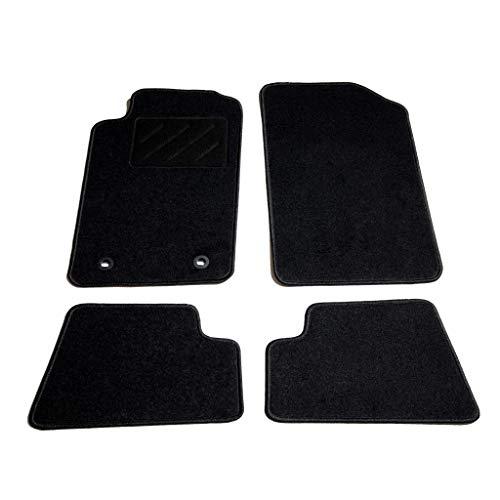 Festnight Automatten-Set 4-TLG. Fußmatten für Peugeot 206 CC