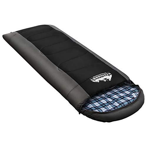 Sleeping Bag Single/Double Weisshorn Camping Sleeping Bag