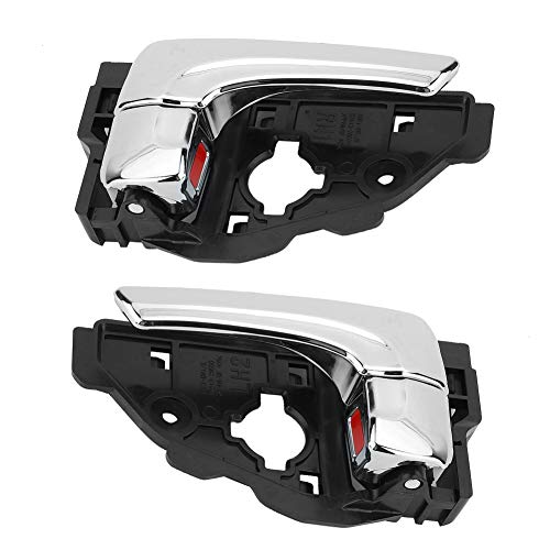 1 Paar Auto-Innentürgriff, 82620-2S010 82610-2S010 Galvanik Helle Farbe innen links rechts Türgriff Passend für ix35 2010-2014