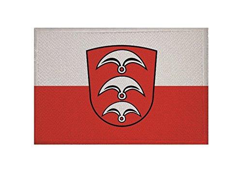 U24 Aufnäher Fellbach Fahne Flagge Aufbügler Patch 9 x 6 cm