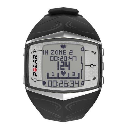 POLAR Damen Sportuhr FT60F Black Pearl Herzfrequenzmessgerät, one size