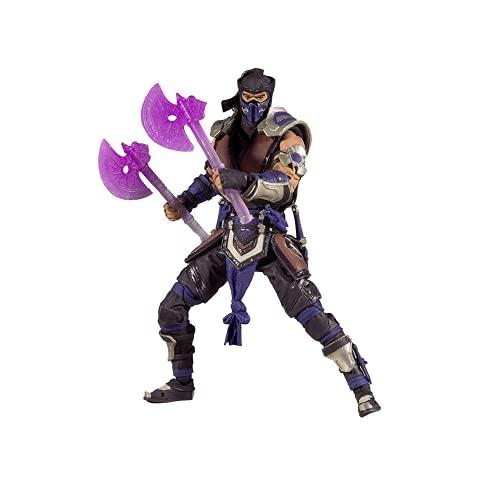 Mortal Kombat McFarlane Boneco Sub Zero, Multicor