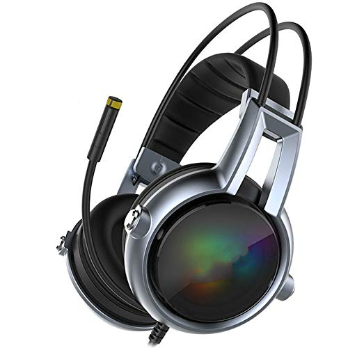 Gaming Headphone Sound Vibration Headset Earphones USB with Mic Microphone Pc Bass Stereo Computer Gamer Brand