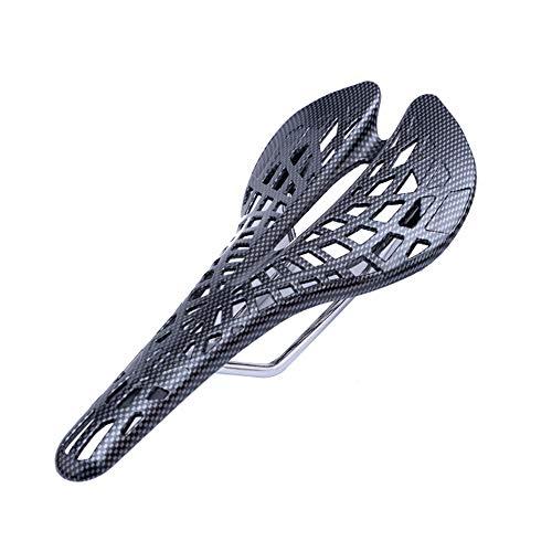 T-XYD Carbon-Faser-Fahrrad-Sattel-Ultra-Light-Spinne Kissen Adult Außenreit Mountainbike Rennrad Zubehör