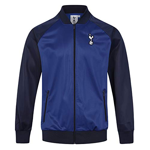 Tottenham Hotspur FC - Herren Trainingsjacke - Offizielles Merchandise - Dunkelblau & Royalblau - M