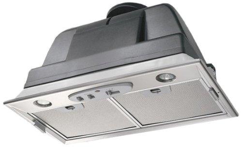Mepamsa Smart Plus H 52 Campana aspirante, grupo filtrante de inox, 20 W, 69 Decibelios, 3 Velocidades, Acero inoxidable