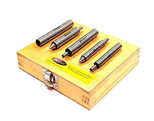 Precision 5 Piece Edge Finders Set -Hardened Tool Steel/Imperial...