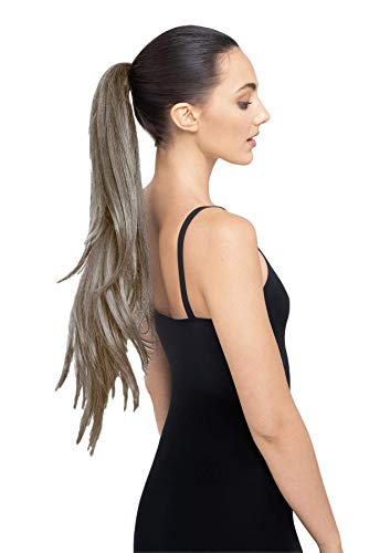 THE RUBY 30' Salon-Quality Hair Extension - Infinite Celebrity Looks With StyleFlex (Light Grey)