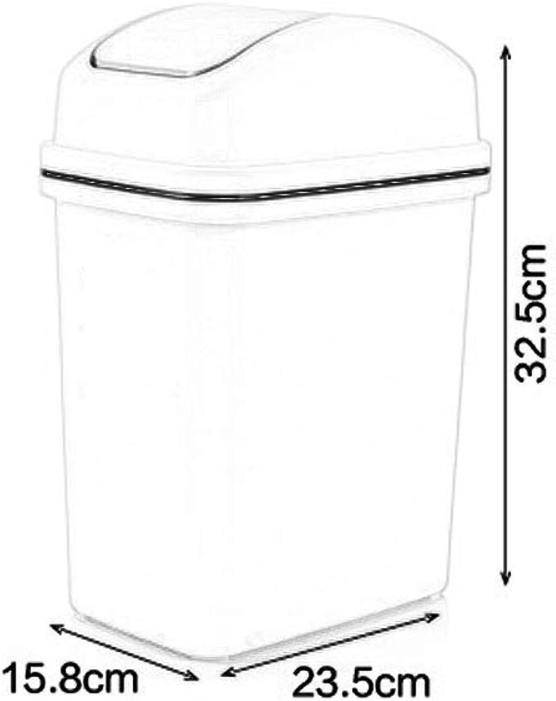 respuestas rápidas MTG Barrera de basura basura basura rectangular Hogar Separación de basura Barril Barril Basura creativa Bote de basura de plástico Impermeable Fácil de limpiar,gris,10L  almacén al por mayor
