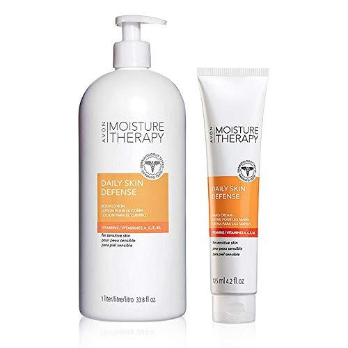 Avon Moisture Therapy Daily Skin Defense Ultra Duo