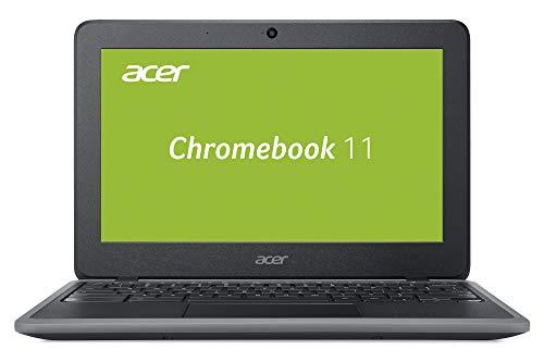 Acer Chromebook 11 (11,6 Zoll HD matt, 4G LTE, extrem lange Akkulaufzeit, widerstandsfähige Bauweise nach Militär-Standards, wasserabweisende Tastatur, HDMI, MicroSD Slot, Google Chrome OS) schwarz