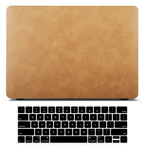 Funda para MacBook Air de 13 pulgadas, versión 2018 A1932 con pantalla Retina, cubierta de goma y cubierta de teclado para Mac Air 13