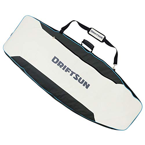 Driftsun Wakesurf Board Protective Bag - 62 x 24 Inch Wakesurf Bag with Durable Padded Shell, Detachable Strap, and Waterproof Inner Lining