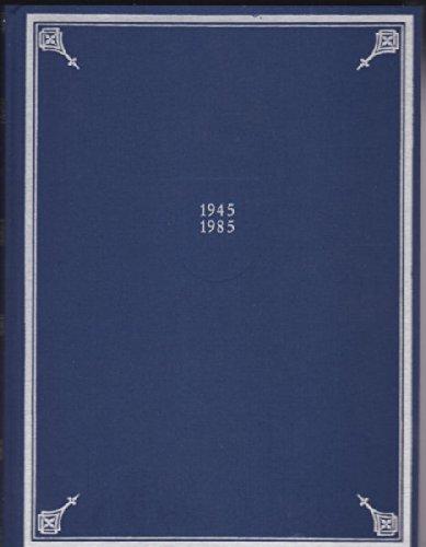 Generalregister wappenführender Familien zu den Bänden I-VI, 1945-1985 der Allgemeinen Deutschen Wappenrolle