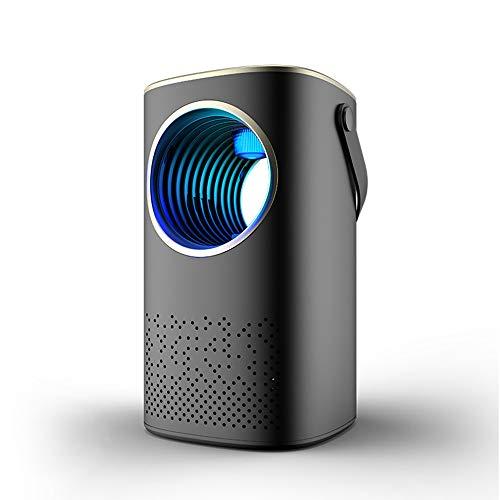 QHGao muggennet, led, muggenlicht, oplaadbaar, USB, met afstandsbediening, muggenbescherming, extreem stil en krachtig.