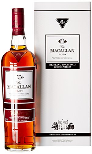 Macallan - Whisky escocés Ruby single malt