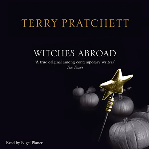 Witches Abroad audiobook cover art