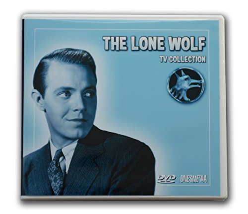 THE LONE WOLF TV COLLECTION - 10 DVD-R - 39 TV MOVIES - 1954/1955 - Total Playtime: 15:19:15 Starring Louis Hayward