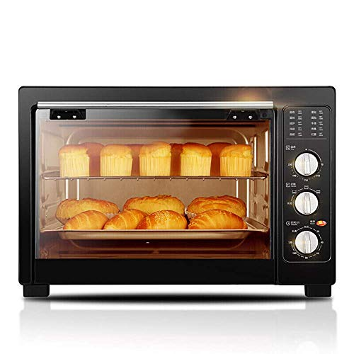 L.TSA Küchen-Mini-Ofen, Multifunktions-Elektrogrill, DREI Heizmodi, Flexible Wärmeanpassung, vierschichtiger Backraum für Flexible Anwendungen zur Erfüllung der Backbedürfnisse der Familie