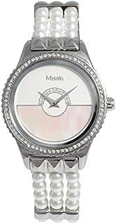 ميساكي ساعة رسمية نساء انالوج بعقارب لؤلؤ - QCRWRIVIERA