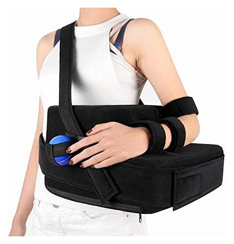 WANGPP Tragbare Armsupports, Universal Rechts/Links-Schulter-Riemen mit Abduktionskissen Und Gymnastikball Rotatorenmanschette Slings Wegfahrsperre Brace 10.26 (Size : Rightarm)