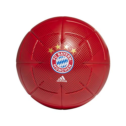 adidas Men's CLB Soccer Ball, FCB True red/White, 4