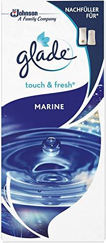 Glade Touch & Fresh (Brise One Touch) Nachfüller, Lufterfrischer Minispray, Marine, 1er Pack (10 ml)