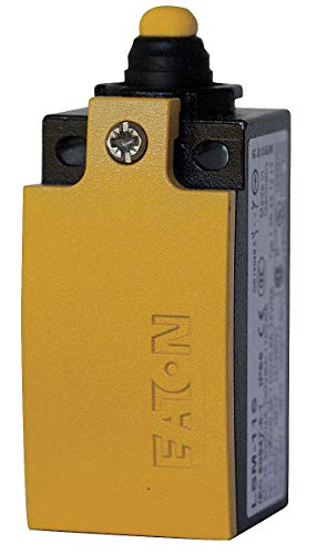 Eaton 1NO/1NC Cage Clamp Limit Switch Body, AC Contact Rating: 6A @ 24VAC, 4A @400VAC