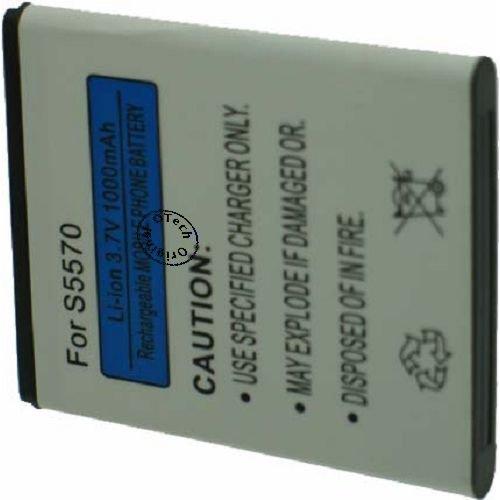 Otech bateria Compatible para Samsung GT-S5570 Galaxy Mini