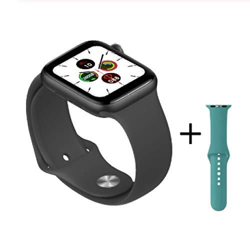 ChenKK Wie Gezeigt/IWO Plus Smart Watch 44mm 40mm für Apple IOS Android Series 5 Smartwatch Herzfrequenz Bluetooth Call Music Player VS Iwo12 13 8