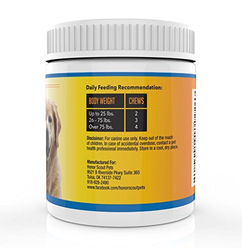 Premium Omega 3 Chew Treats For Dogs   All Natural Fish Oil For Dogs   Best Skin & Coat Support to Reduce Shedding & Itching   Rich In Omega 3 6 9 For Dogs   Anti-Inflammatory   90 Bacon Flavor Treats