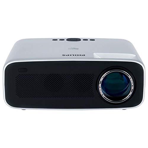 Philips NeoPix Ace Projektor/Beamer (4.200 LED-Lumen, 120´´ Bildgröße, Bildschirmspiegelung via Wi-Fi, Bluetooth, HDMI), Farbe:Silber/schwarz
