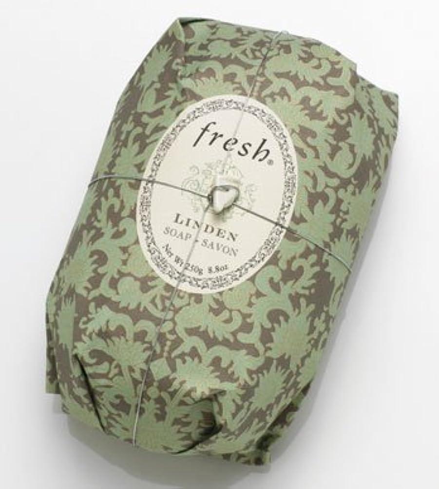 ビジター構成シルエットFresh LINDEN SOAP (フレッシュ リンデン ソープ) 8.8 oz (250g) Soap (石鹸) by Fresh