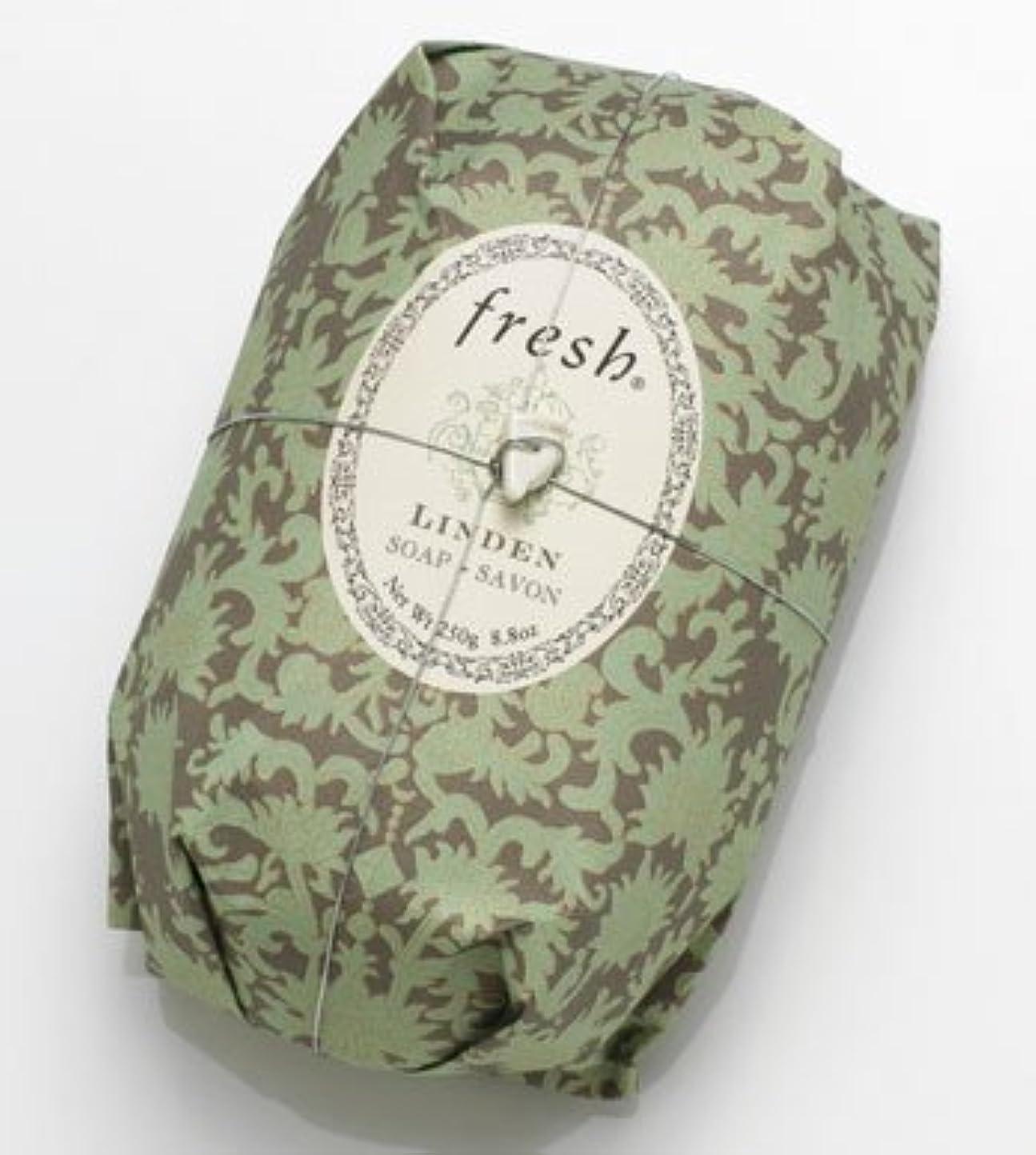 内陸サスペンション衣装Fresh LINDEN SOAP (フレッシュ リンデン ソープ) 8.8 oz (250g) Soap (石鹸) by Fresh