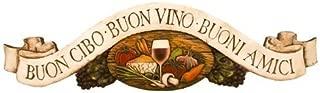Piazza Pisano Italian Good Food Good Wine Good Friends Door Topper