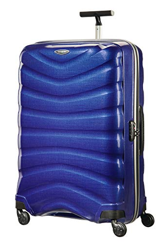 Samsonite Firelite Luggage- Suitcase, XL (80 cm - 124 L), Deep Blue