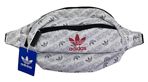 Adidas National Waist Pack, White/Power Pink/Black #5151183