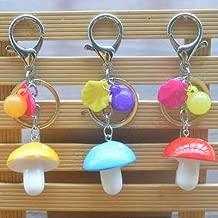 KADYS Keychain Cute Toy Macaron Mushroom Creative Keychain Gift