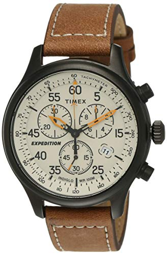 TIMEX Expedition Field Chronograph Analog Beige Dial Men's Watch-TW2T73100
