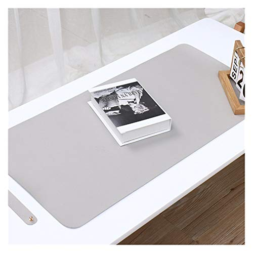 Duradero 1 Unids Oficina Tamaño Big Mouse Pad Mesa Mesa Ratón Color Sólido Ratón Ratón Mouse Cuaderno Portero Impermeable Mater Hermoso (Colore : Grey)