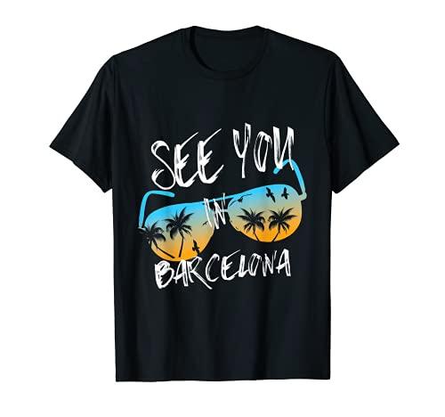 Nos vemos en Barcelona Vacation Barcelona gafas de sol Camiseta