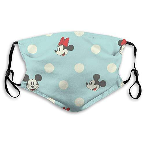 Mickey-Mouse Blue Erwachsene Verstellbarer Mundschutz Mundschutz mit Staub Wiederverwendbarer Schutz Mundschutz gegen Verschmutzung, Anti-Smog-K8Q