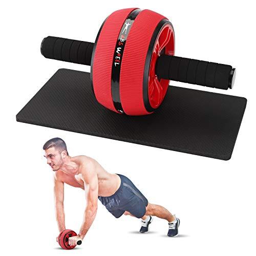 Nonao Bauchtrainer, Bauchrollentrainer, Ab Wheel Roller Bauchmuskeltrainer Fitnessgeräte für Zuhause und Fitness, Bauchrollentrainer für Mann und Frau