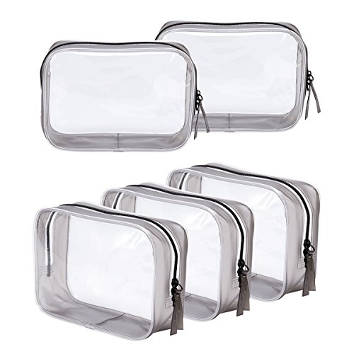 5 Pack Clear PVC...