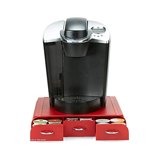 Mind Reader REDCUP Coffee pod Drawer, One Size, Red 2
