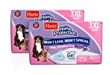 Hartz Home Protection Lavender Scented Odor Eliminating Gel Dog Pads, 36' x 36' 3XL, 60 Count