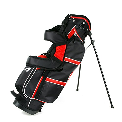Affinity ZLS Stand Golf Bag Black/Red