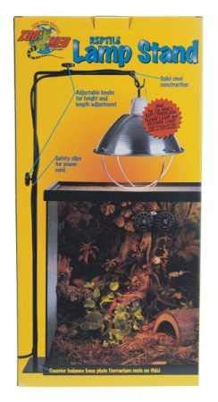 Zoo Med HB-75 Soporte para lámpara de reptiles, estándar